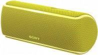 Портативная беспроводная акустика Sony SRS-XB21 желтая