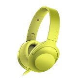Наушники Sony MDR-100AAP лимонно-желтые